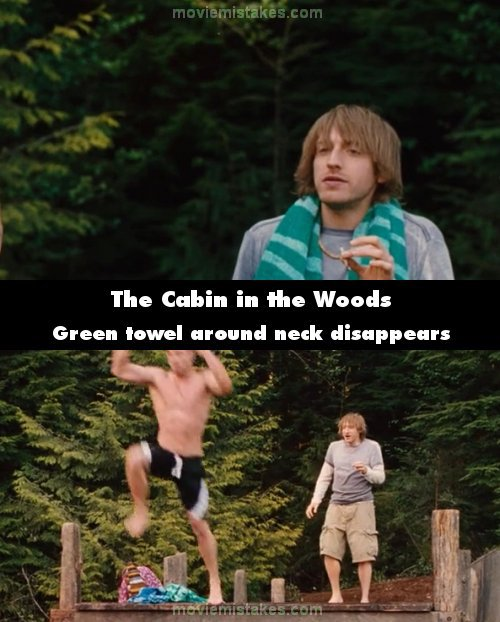 the-cabin-into-the-woods-errores-de-peliculas-de-terror
