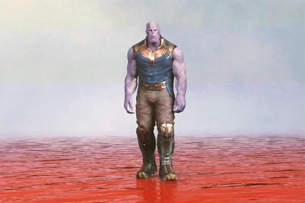 escena eliminada de avengers infinity war thanos