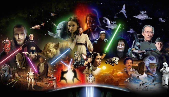 saga star wars resumen trailer