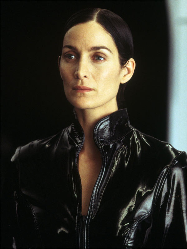 carrie anne moss trinity matrix