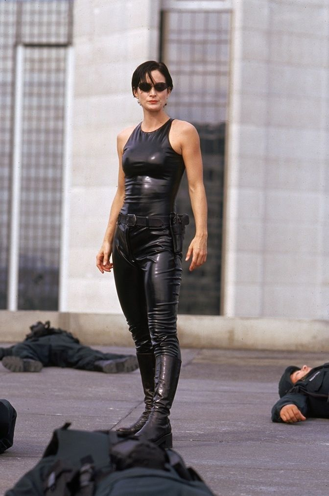 matrix trinity carrie anne moss