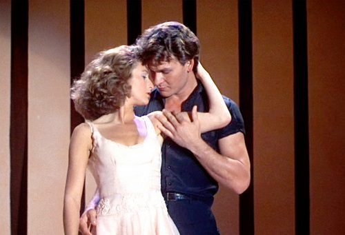 parejas del cine Dirty Dancing Johnny y Baby