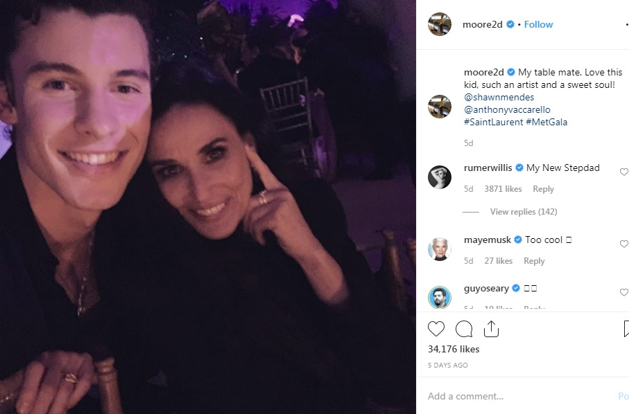 demi moore shawn mendes