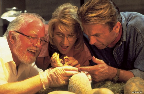 jurassic park 1993 john hammond final alternativo