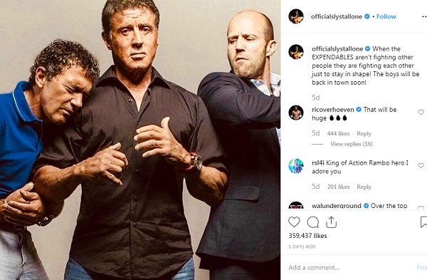 Sylvester Stallone los indestructibles 4