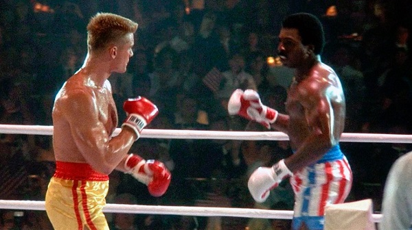 pelea ivan drago apollo creed rocky 4