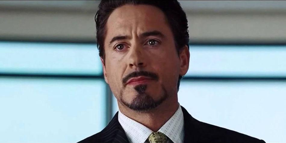 tony stark iron man aspecto