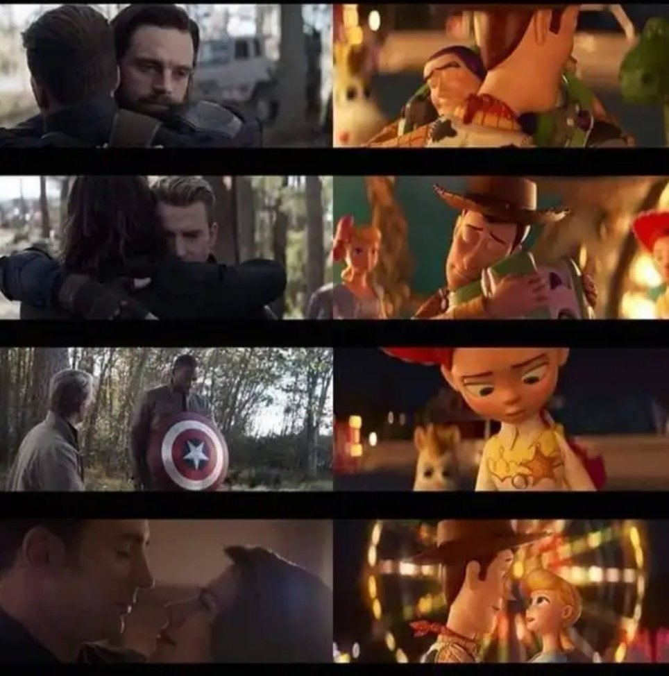 avengers endgame toy story 4 similitudes