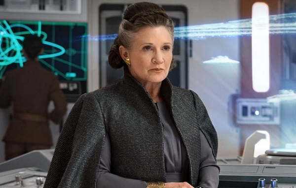 carrie fisher leia ultmo jedi