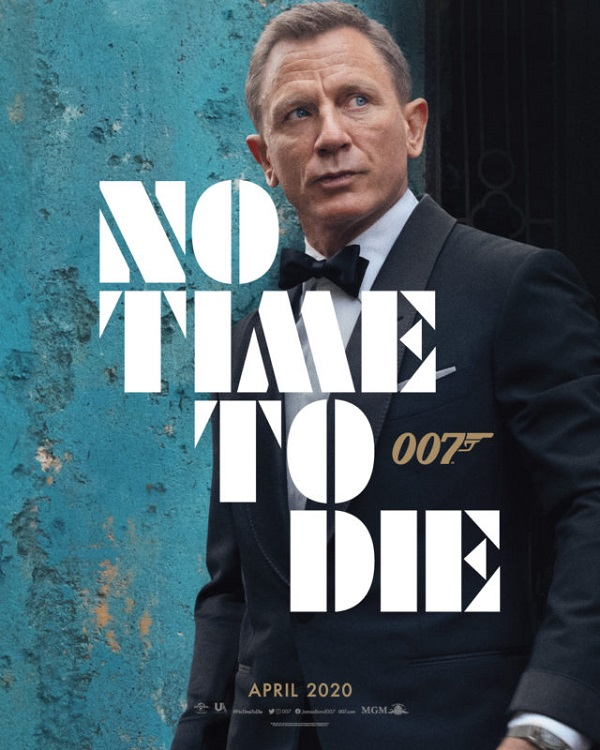 estrenos 2020 no time to die james bond