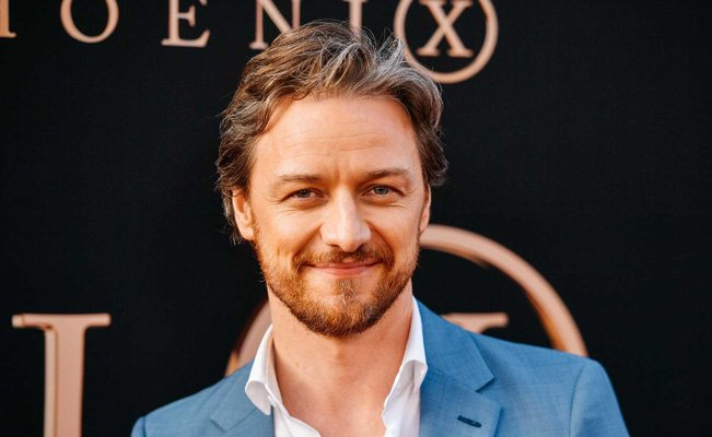 James McAvoy estatura