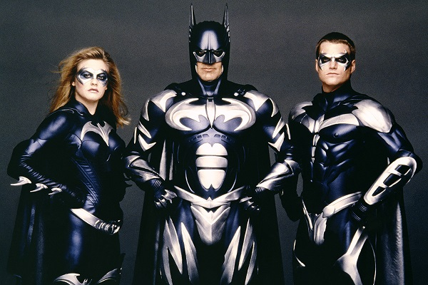 Alicia Silverstone, George Clooney   Chris O'Donnell batman y robin