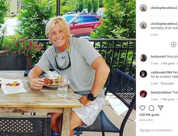 Christopher Atkins actor protagonista la laguna azul