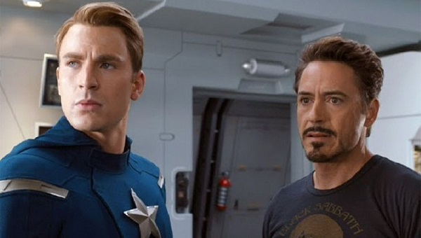 capitan america y iron man