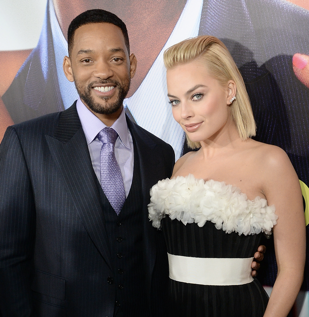will smith margot robbie rumor romance