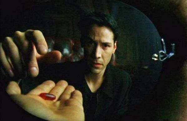 matrix significado pildora roja