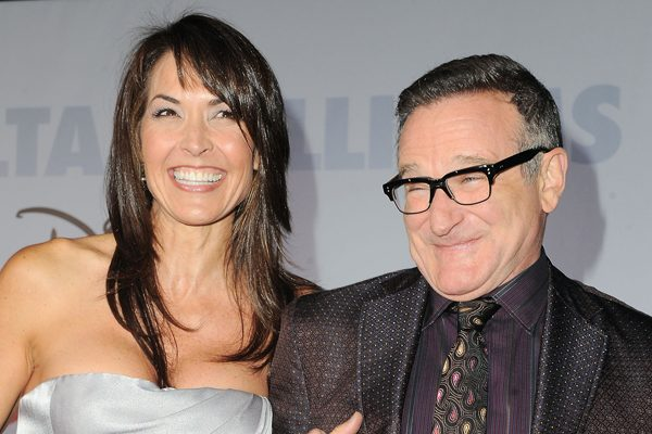 robin williams y su esposa susan scheider