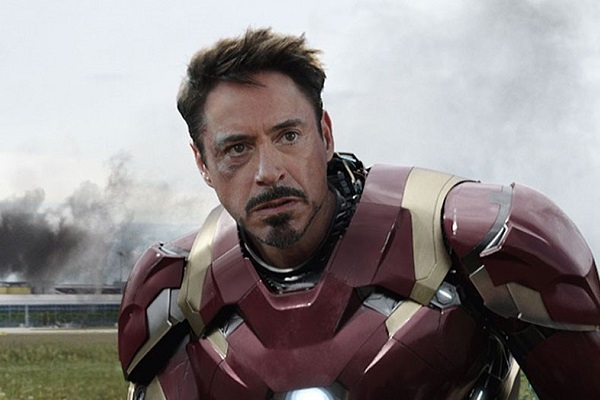 tony stark iron man robert downey jr