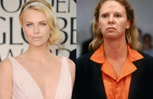 charlize theron transformacion aileen wuornos monster