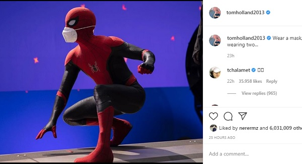 nueva pelicula spider man tom holland