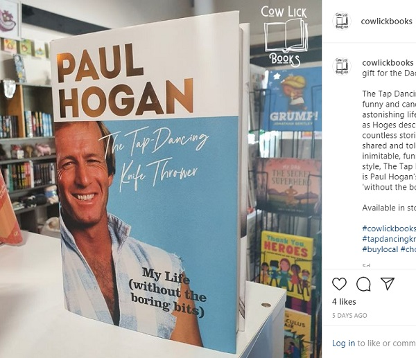 paul hogan actor cocodrilo dundee libro