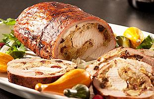 lomo de cerdo relleno con frutos secos preparaci243n