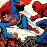 Crossovers: Cuando Superman se reúne con Spiderman