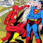 La velocidad de Superman (pre-Crisis)