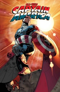 Portada de All-New Captain America #1. Arte de Stuart Immonen