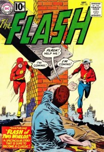 The Flash #123 (1961). Arte de Carmine Infantino