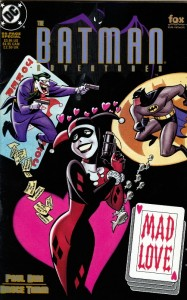Batman Mad Love. Arte de Bruce Timm