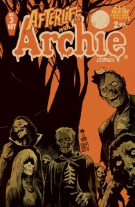 Afterlife with Archie #5. Arte de Francesco Francavilla