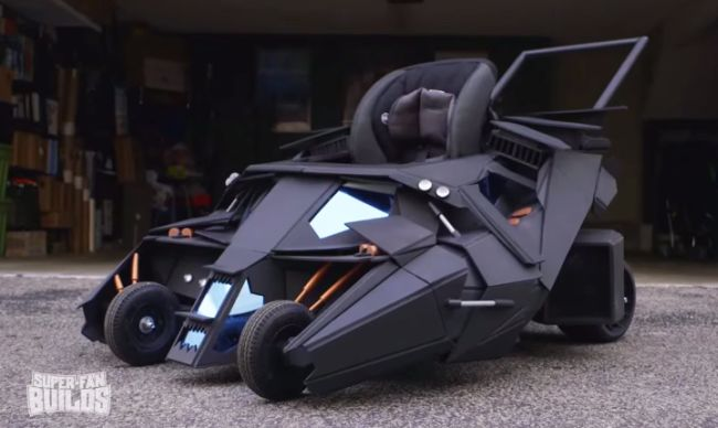 Batmobile-baby-troller