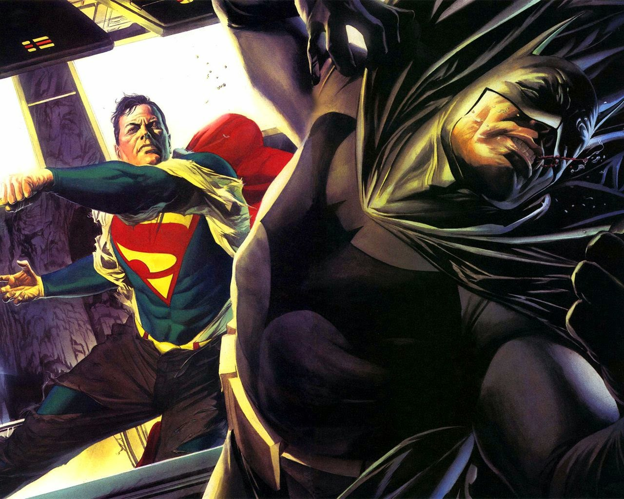 superman-vs-batman-alex-ross