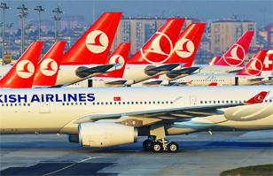 ¡Santos frijoles saltarines! Aerolínea turca ofrece vuelos a Gotham City y Metrópolis