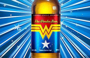 Súper diseño: Artista gráfico crea envases de cerveza inspirado en la Liga de la Justicia