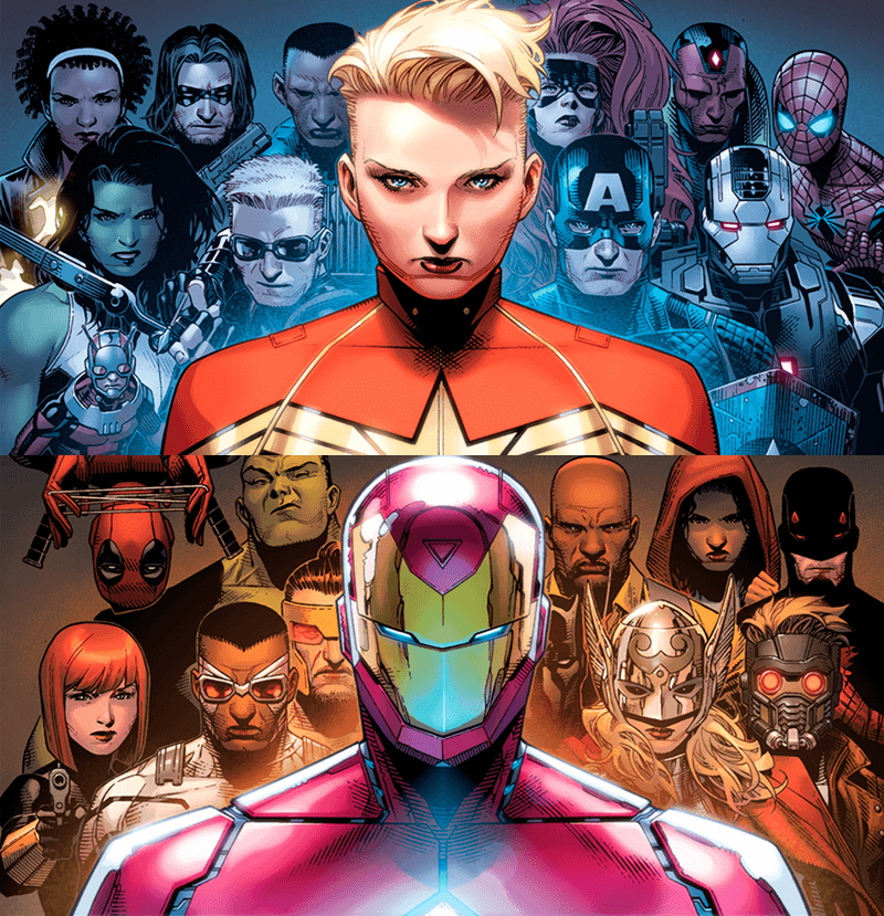 The Avengers Civil War 2