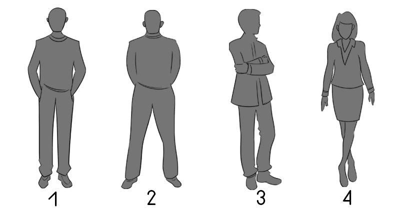 qué revela sobre tu personalidad la forma en que te pones de pie