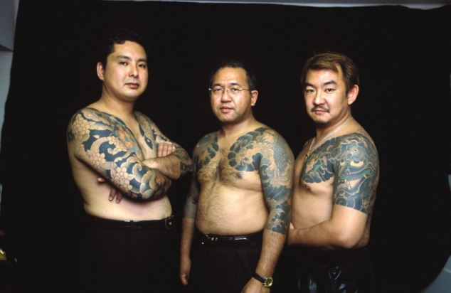 FORMER JAPANESE YAKUZA GANGSTERS WHO HAVE TURNED TO GOD AND HELP THE HOMELESS IN TOKYO, JAPAN - 31 OCT 2001