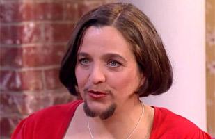 Mujer barba