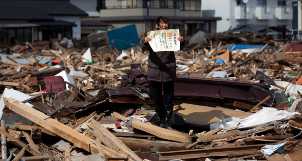 Catástrofe Japón