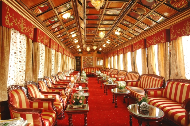 Image result for palace on wheels