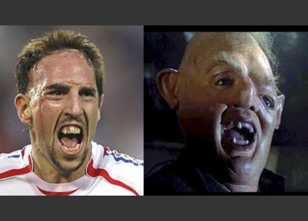 Ribéry / Sloth (The Goonies)