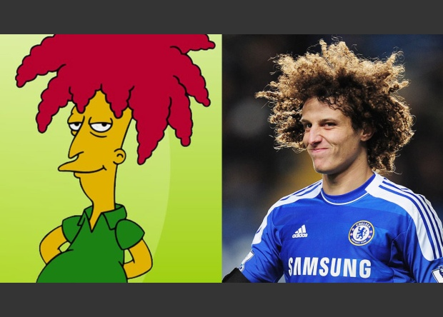 David Luiz / Bob Patiño (The Simpson)