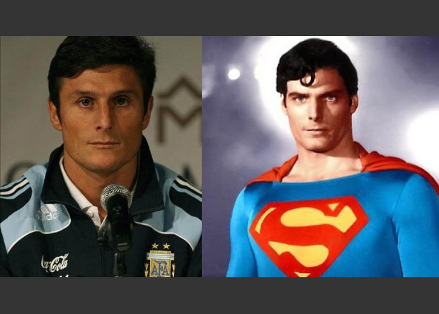 Javier Zanetti / Superman