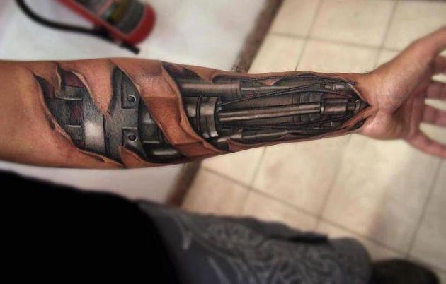 10 Increíbles Tatuajes En 3d Tan Bien Hechos Que Pensarás Que Son