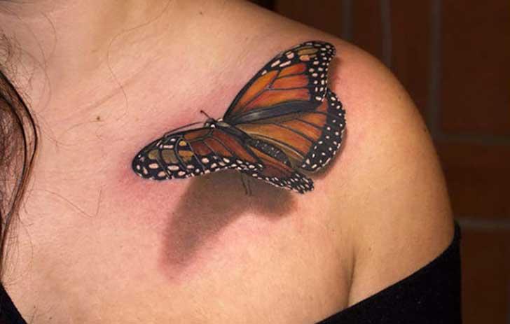 10 Increibles Tatuajes En 3d Tan Bien Hechos Que Pensaras Que Son