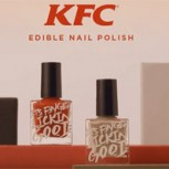 Kentucky Fried Chicken crea exclusivo y caro esmalte para uñas con sabor a pollo