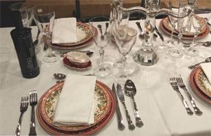 C mo usar los cubiertos en la mesa normas b sicas del - Protocolo cubiertos mesa ...