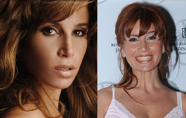 Famosas argentinas con exceso de Photoshop: impactantes